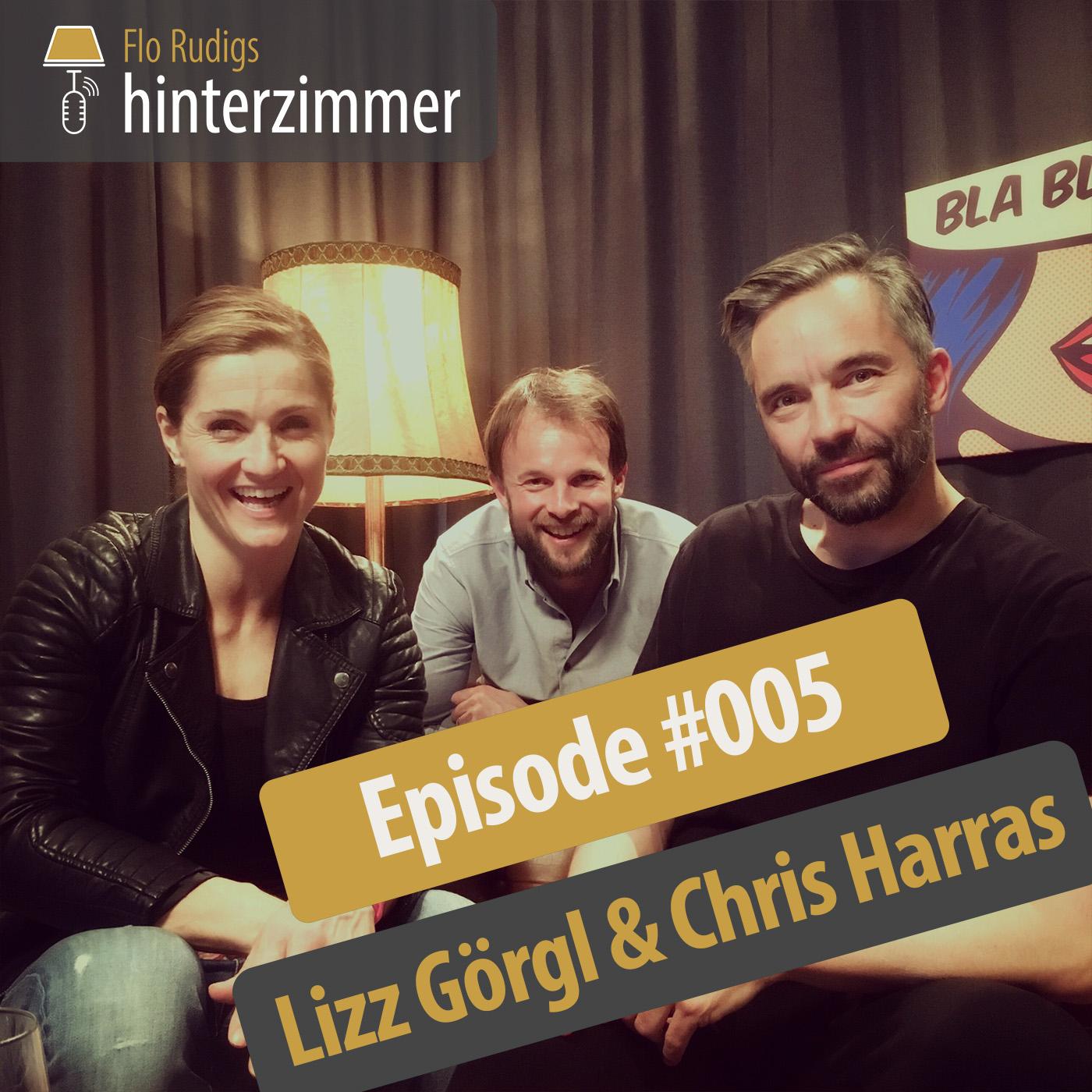 #005 Dancingstar Lizz Görgl mit Verlobtem Chris Harras | Hinterzimmer
