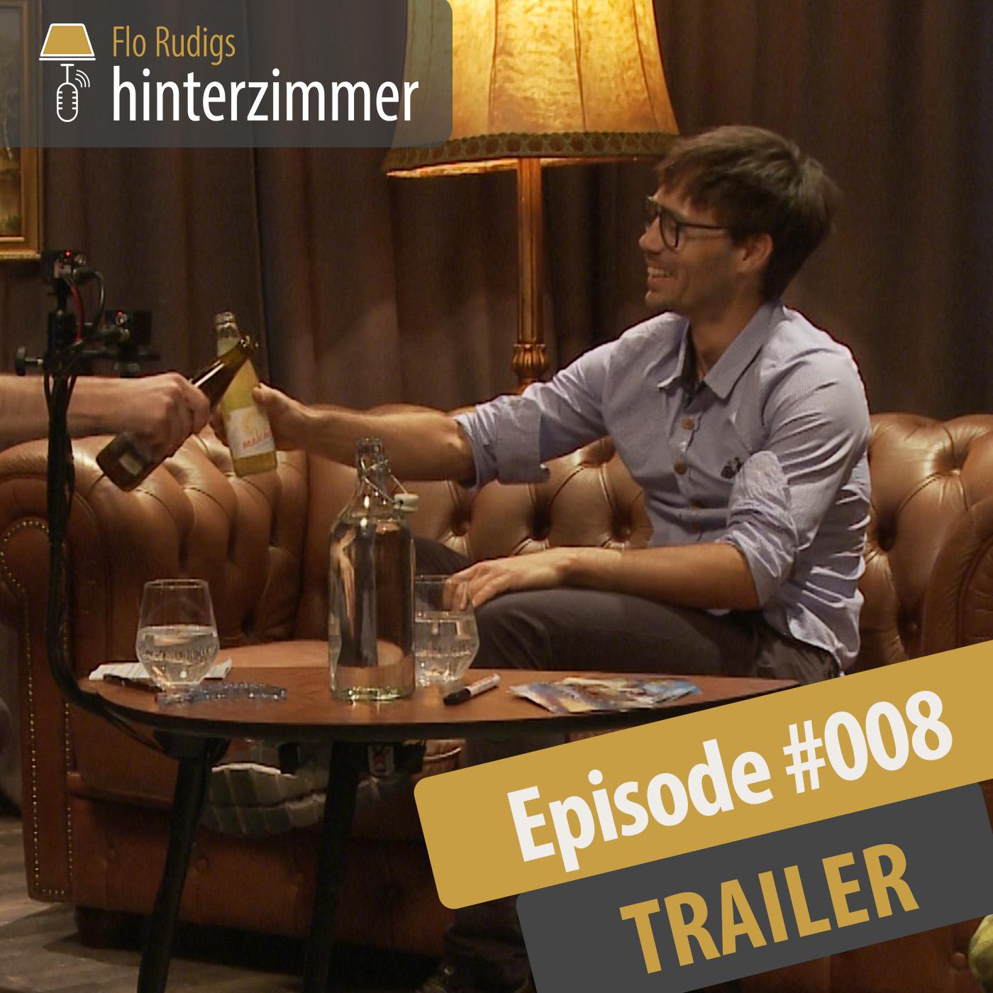 #008 TRAILER: Ultra-Radfahrer Michi Strasser | Hinterzimmer